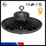 Montaggio industriale di illuminazione del UFO Highbay LED della lampada IP67 130lm/W 100W 150W 200W di Highbay