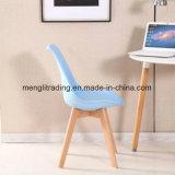 黒いプラスチックシートの木足の居間デザイナー椅子