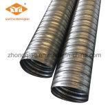 Tubos acanalados galvanizados alta calidad del metal