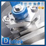 Металл конкурентоспособной цены CF3 Didtek усадил выкованный плавая шариковый клапан