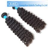 Kbl 2014 vierge en vrac non traité Curly brésilien de cheveux humains