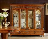 Italienische königliche hölzerne Art-Luxuxmessingdekoration-Wohnzimmer-Schaukasten der Möbel-0029