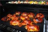 Stuoia riutilizzabile Pfoa-Libera della griglia del BBQ del BBQ di PTFE della stuoia antiaderante della griglia