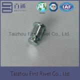 8X14.6mmの青亜鉛カラー固体鋼鉄停止Pinのリベット