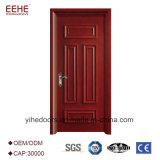 A porta de madeira contínua do estilo novo retrata a porta da madeira contínua