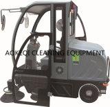 Industrielles Reinigungs-Geräten-elektrische Fahrt auf Straßen-Kehrmaschine-Maschine