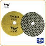 테라조를 위한 80mm Flexiblediamond 건조한 닦는 패드