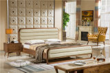 Mobilia della camera da letto, base di legno antica, base di legno della mobilia
