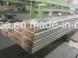 ASTM Ss 200 tubo cuadrado rectangular del acero inoxidable de 300 400 series con buena calidad