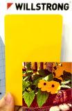 Panneau composé en aluminium fait sur commande de la couleur 3mm de vente de panneau décoratif chaud de maison