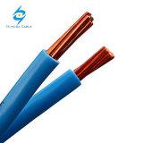 Fil électrique isolé par PVC à un noyau Nya