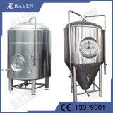 1000 galones de vino Chaqueta cónico de acero inoxidable vaso Brignt fermentador de almacenamiento de cerveza Cerveza cuba de fermentación