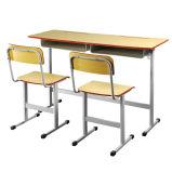 초등 학교 가구 학생 두 배 책상과 의자