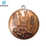 Custom Design пустым Silver металлические дешевые медали без ленты