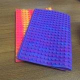 Farben-Silikon-Notizbuch-Deckel