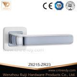 Poignée de porte grand européen Type en alliage de zinc levier porte creux