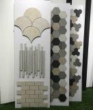Los materiales de construcción rústica mosaico de cerámica de porcelana esmaltada pared/piso/suelo mosaico utilizado para el cuarto de baño