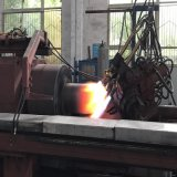 Rollen-Typ nahtlose Gas-Zylinder-heiße Spinnmaschine