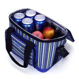 Saco novo relativo à promoção do almoço das bolsas do poliéster do refrigerador do Tote do projeto