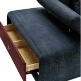 Sofà di smontaggio del tessuto di disegno moderno per il salone G7607b
