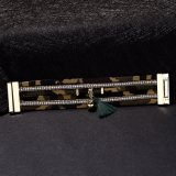 Populäres Hotsale ledernes Armband-Form-Entwurfs-Armband