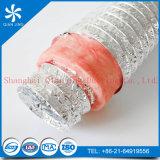 Conducto del aislante de la fibra de vidrio (interno y externo ambos son el conducto de aluminio)
