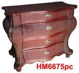 Rattan-hölzerne spinnende Möbel (HM6675pc)