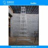 De uitgedreven Ladder van de Functie van het Profiel van de Ladder van het Metaal van het Aluminium van de Ladder van het Aluminium