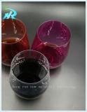 Koppen van de Cokes van de Glazen van het Bier van de goede Kwaliteit de Plastic Stemless