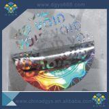 Holograma evidente del sello de la seguridad del pisón del vacío de la garantía