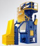 Alimentação automática Q32 Series Rastreados Granalhagem Limpar a Máquina