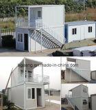 20FT 40FT 조립식 가옥은 변경한 선적 컨테이너 집을 비치했다