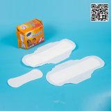 Nom de marque serviette hygiénique fabricant, le commerce de gros tampon sanitaire pour les femmes, d'ions négatifs Serviette hygiénique