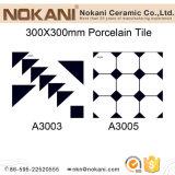 300*300mm a tijoleira rústica de azulejos do piso de mosaico de porcelana Material de Construção