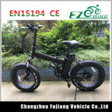 Bici elettrica piegante della gomma della gomma grassa elettrica grassa della bicicletta