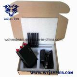 6 emittente di disturbo portatile del segnale del telefono del DCS PCS 3G 4glte 4gwimax di GSM CDMA dell'antenna