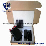 6 Antenne beweglicher G/M CDMA Telefon-Signal-Hemmer DCS-PCS 3G 4glte 4gwimax