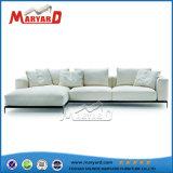 Diseño simple mobiliario de jardín armazón de aluminio sofá