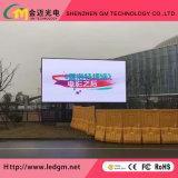 Alto brilho P6 (P8 P10mm) Piscina Cores RGB LED fixo na parede de vídeo