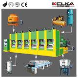 Machine van de Schoen van het Sandelhout van het Afgietsel van de Injectie van EVA van Kclka de Beroemde Plastic
