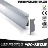 Profil d'extrusion de DEL, diffuseur en aluminium de lumière de bande, la Manche de bande de DEL