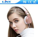 Écouteurs faits sur commande de logo Rose d'or en gros bon marché de la Chine pour le mobile