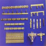 Изготовленный на заказ штемпелюющ мыжской и женский латунный электрический стержень (HS-DZ-0044)