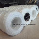 Polypropylène/Microglassfiber/usine de cartouches filtrantes de l'eau de blessure fils de coton