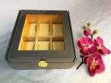 Caisse d'emballage jaune de montre de la souillure 6