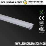 Profilo di alluminio del LED per l'indicatore luminoso di striscia flessibile del LED