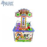De populaire BinnenMachine van het Spel van de Hamer van de Arcade van de Kikker van de Klap van Spelen Muntstuk In werking gestelde
