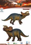 La figure de bande dessinée de Dinosaures jouets