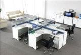 Estação de trabalho de escritório de melamina de alta qualidade partição para 10 pessoas (WST642 SZ)