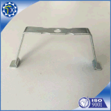 Metal modificado para requisitos particulares que estampa el clip de aluminio plateado cinc de la forma de V